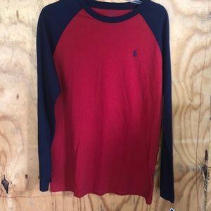 Polo by Ralph Lauren long sleeve 3 shirt jersey